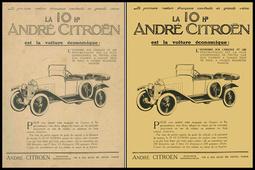 CITROEN-Publicités automobiles : un art nouveau.